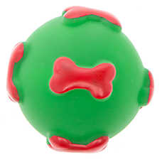 Pet Holiday™ Traditional Ball Vinyl Dog Toy