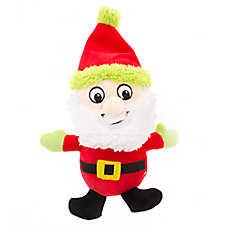 Pet Holiday™ Santa Plush Dog Toy
