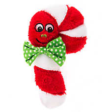 Pet Holiday™ Candycane Plush Dog Toy