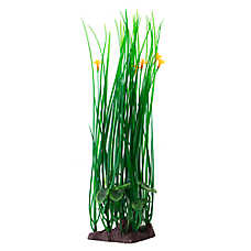 Top Fin® Green with Orange Flowers Aquarium Plant