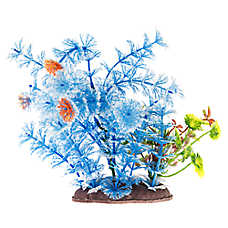 Top Fin® Blue Landscape Aquarium Plant