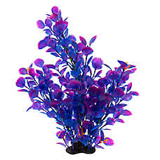 Top Fin® Purple and Blue Aquarium Plant