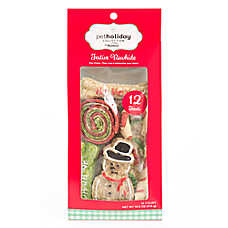 Pet Holiday™ Dentley's® Festive Rawhide Snowman Dog Treat Value Pack - 12ct