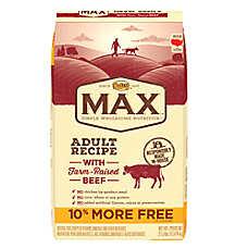 NUTRO® MAX® Adult Dog Food- Natural, Beef