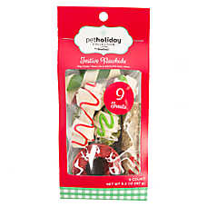 Pet Holiday™ Dentley's® Festive Rawhide Wreath Dog Treat Value Pack - 9ct