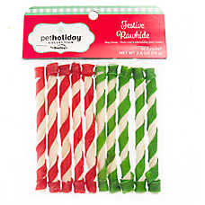 Pet Holiday™ Dentley's® Festive Rawhide Twists Dog Treat