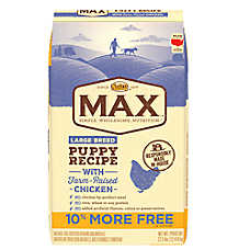 NUTRO® MAX® Large Breed Puppy Food - Natural, Chicken