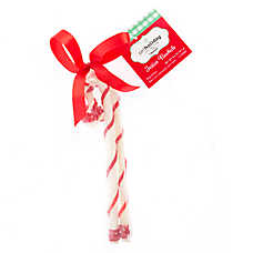 Pet Holiday™ Dentley's® Festive Rawhide Cane Dog Treat