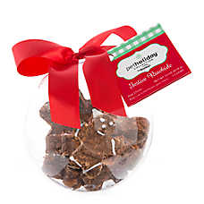 Pet Holiday™ Dentley's® Gingerbread Ornament Dog Treat