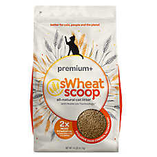 Swheat Scoop® Premium+ Cat Litter - Natural, Clumping