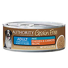 Authority® Grain Free Adult Dog Food - Chicken & Carrots