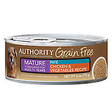 Authority® Grain Free Mature Dog Food - Chicken & Vegetables