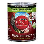 Purina ONE® Smartblend® True Instinct Adult Dog Food - Chicken & Duck
