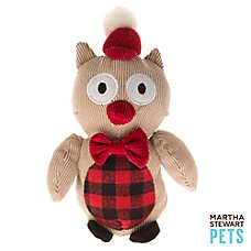 Martha Stewart Pets® Plush Owl Dog Toy