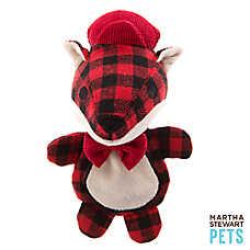 Martha Stewart Pets® Flat Crackle Fox Dog Toy