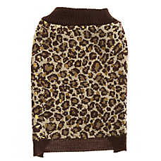 Top Paw® Leopard Dog Sweater