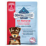 BLUE™ Dental Bones Regular Puppy Treat - Natural