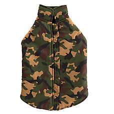 Top Paw® Green Camo Dog Vest