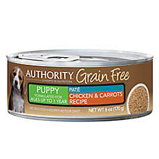 Authority® Grain Free Puppy Food - Chicken & Carrots