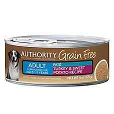 Authority® Grain Free Adult Dog Food - Turkey & Sweet Potato
