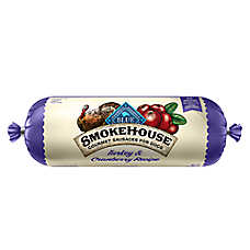BLUE™ Smokehouse Gourmet Sausage Rolls Dog Food - Natural, Turkey & Cranberry