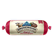 BLUE™ Smokehouse Gourmet Sausage Rolls Dog Food - Natural, Beef & Carrots
