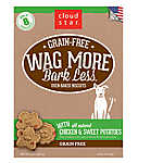 Cloud Star® Wag More Bark Less® Dog Treat - Natural, Grain Free, Chicken & Sweet Potato