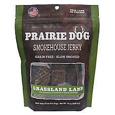 Prairie Dog Smokehouse Jerky Dog Treat - Natural, Grain Free, Grassland Lamb