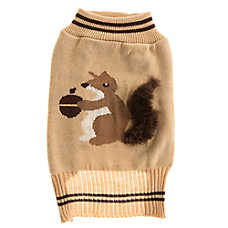 Top Paw® Squirrel Fur Dog Sweater