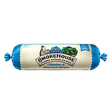BLUE™ Smokehouse Gourmet Sausage Rolls Dog Food - Natural, Chicken & Spinach