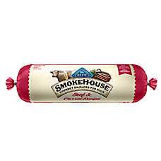 BLUE™ Smokehouse Gourmet Sausage Rolls Dog Food - Natural, Beef & Carrots