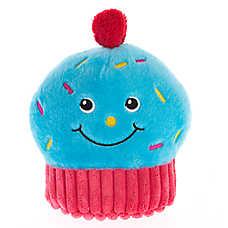 Pet Holiday™ Winter Cupcake Plush Dog Toy