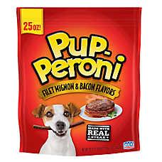 Pup-Peroni® Dog Treat - Filet Mignon & Bacon