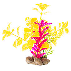 Top Fin® Orange and Fuchsia Aquarium Plant