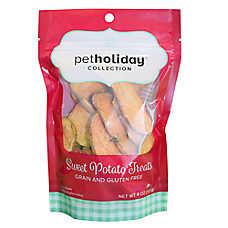 Pet Holiday™ Sweet Potato Chips Dog Treat - Grain Free, Gluten Free