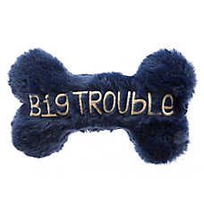 "Top Paw® ""Big Trouble"" Dog Bone Dog Toy"