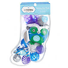 Pet Holiday™ Winter 12 Pack Stocking Cat Toy