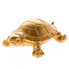 Top Fin® Gold Turtle Aquarium Ornament