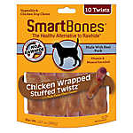 SmartBones® Chicken Wrapped Stuffed Twistz Dog Treat
