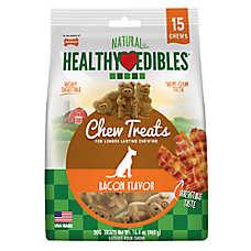 Nylabone® Healthy Edibles® Bacon Buddies Dog Treat - Bacon