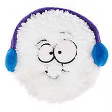 Pet Holiday™ Snowball Flattie Dog Toy