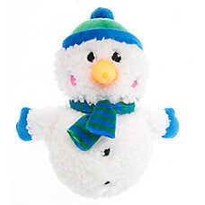 Pet Holiday™ Snowball Snowman Dog Toy