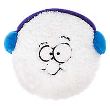 Pet Holiday™ Snowman Face Snowball Dog Toy