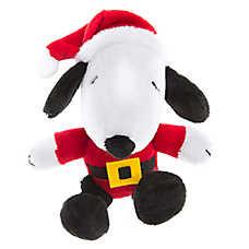 Peanuts® Pet Holiday Snoopy Santa Dog Toy