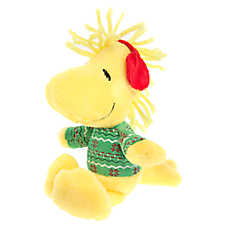 Peanuts® Pet Holiday Woodstock Sweater Dog Toy