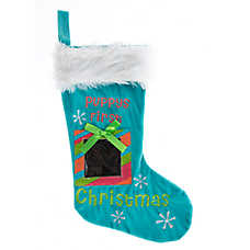 "Pet Holiday™ Winter Stocking ""Puppys First"""