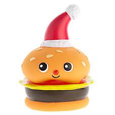 Pet Holiday™ Winter Hamburger Vinyl Dog Toy