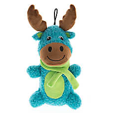 Pet Holiday™ Winter Moose Long Body Sherpa Dog Toy