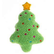 Pet Holiday™ Winter Tree Sherpa Dog Toy