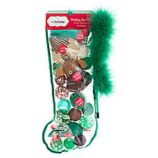 Pet Holiday™ Chalet Chic 24 Pack Moose Cat Toy